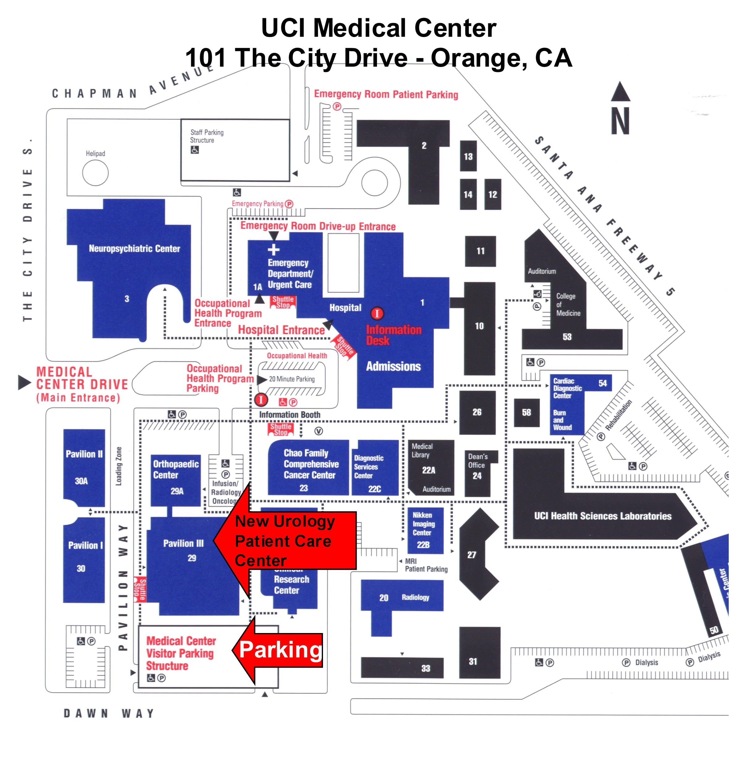 Uci Medical Center Map | Rtlbreakfastclub on uci campus village map, uci interactive map, university of california irvine campus map, uci building map, uci hospital map, uci map pdf, uci health sciences campus map, uci housing map, uci student center map, uci campus irvine ca, uci campus map printable, uc irvine campus map, uci campus parking, uci map with directory, saddleback college campus map, uci main campus map,